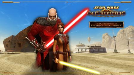 Knights Of The Old Republic 10 jaar