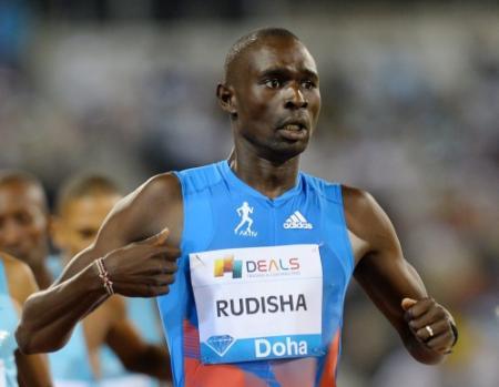 Einde seizoen voor Rudisha