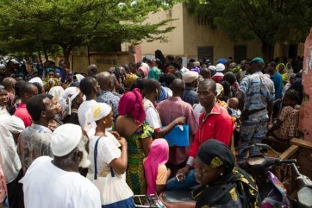 Grote drukte gemeld bij stemlokalen Mali
