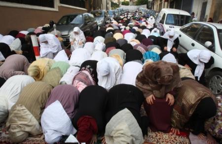 Protestmaaltijden in Algerije tijdens Ramadan