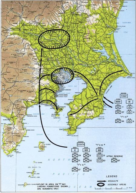 Invasie Tokio: Operation Coronet