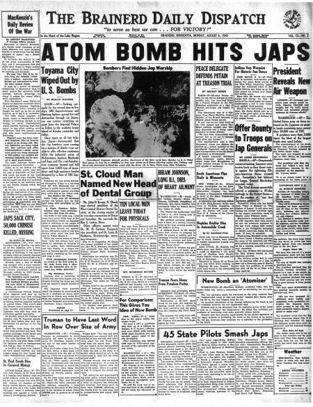Krant VS, 6-8-'45