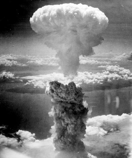 Atoombom 'Little Boy', 6-8-'45, Hiroshima Japan
