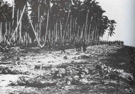Bijna 800 doden bij Temaru, 21-8-'42