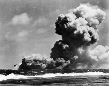 USS Wasp bij Guadalcanal, 15-9-'42