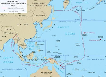 Japanse Rijk, augustus 1942
