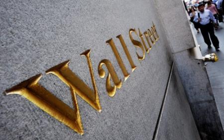Wall Street op verlies