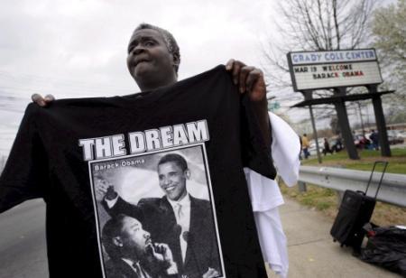 Obama eert King op jubileum'I have a dream'