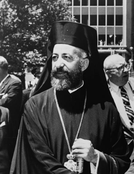 Makarios III in 1974 afgezet door EOKA