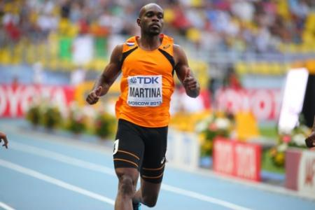 Martina komt wel in actie op 200 meter