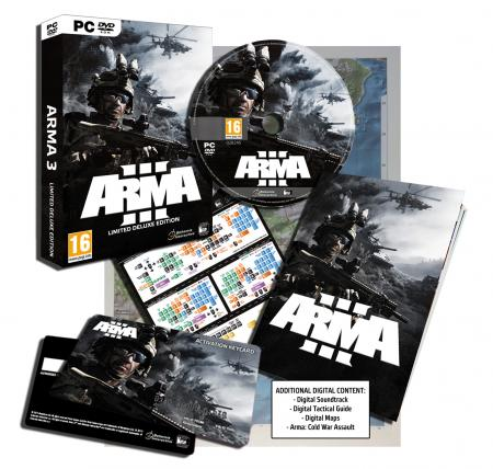 ArmA III Limited Deluxe Edition