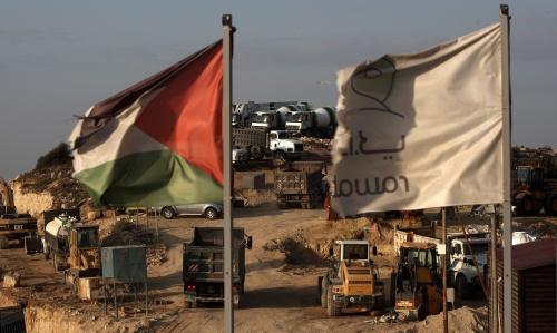 Gesprekken Israël en Palestijnen van start (Foto: ANP)
