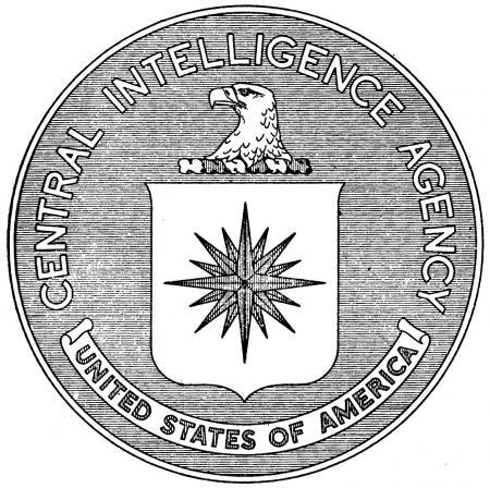 Logo CIA begin jaren '50
