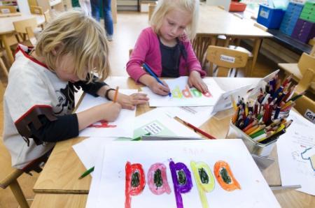 Les aan kleintjes met achterstand rammelt