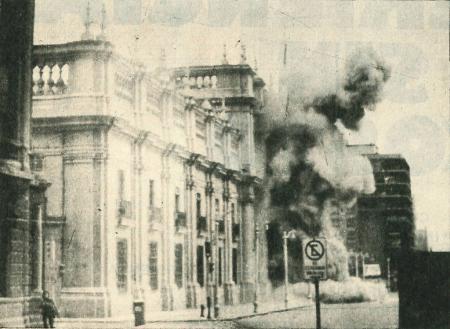 Kantoor president Chili, 1973. Copyright Congreso Nacional de Chile.