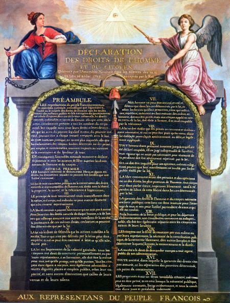 Verklaring van de rechten van de mens en de burger