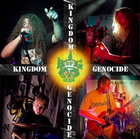 Kingdom of Genocide band en logo