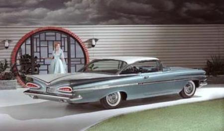 Zoek de verschillen: Impala, 1959