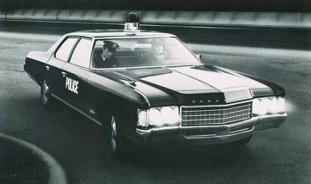 Chevrolet Bel Air uit 1971, politie-uitvoering