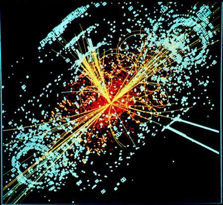 Ontstaan van een Higgs-boson