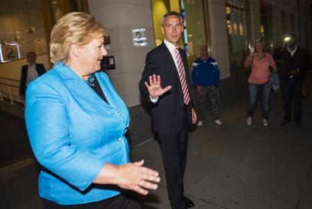 'Centrumrechts wint verkiezingen Noorwegen'