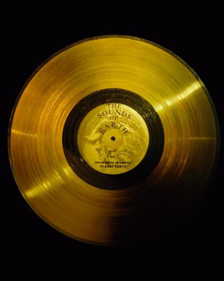 De LP met aardse geluiden die op Voyager 1 en 2 meevliegt