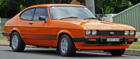 Ford Capri, 1977