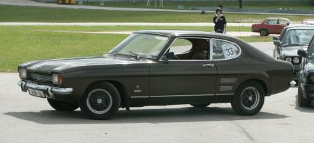 Ford Capri, 1970