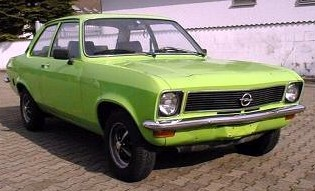 Opel Ascona, 1974; copyright Wiki-user Dieter Mueller