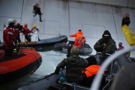Kremlin: Greenpeaceactivisten net piraten