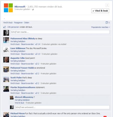 Microsoft maakt punt