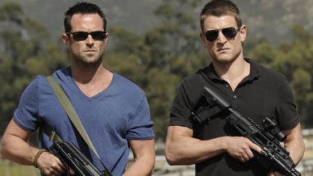 Stapleton en Winchester in Strike Back