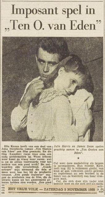 Uit Het Vrije Volk van 5 november 1955