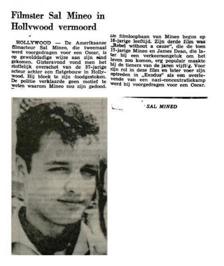 Uit de Leeuwarder Courant van 13 februari 1976