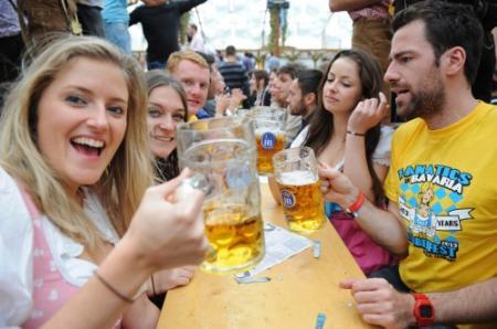 Oktoberfest van München tot Ramallah