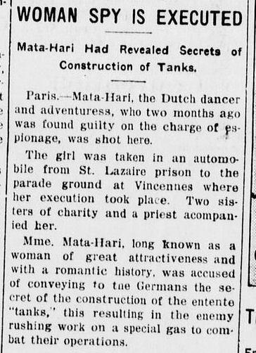 Uit The Black Dispatch (Oklahoma City) van 19 oktober 1917