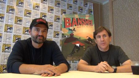 Banshee: Greg Yaitanes en Jonathan Tropper (Foto: Peter Breuls)