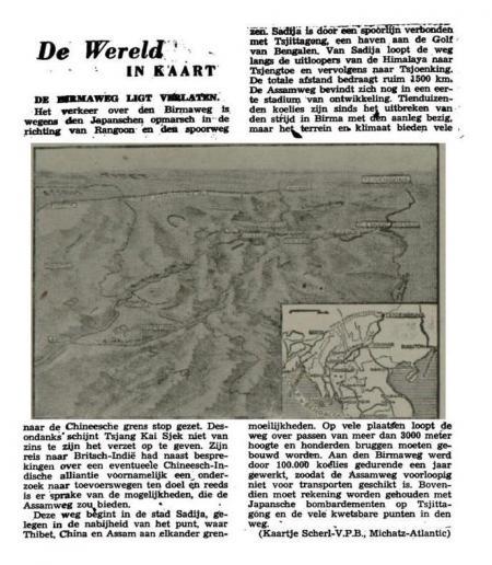 Uit de Leeuwarder Courant van 20 maart 1942