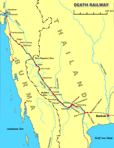 Plattegrond Birma