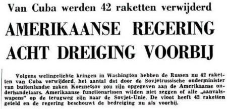 Uit de Leeuwarder Courant van 12 november 1962