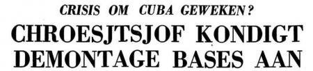 Uit de Leeuwarder Courant van 29 oktober 1962