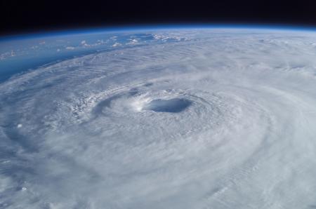Zuidwester des doods (Foto: NASA)