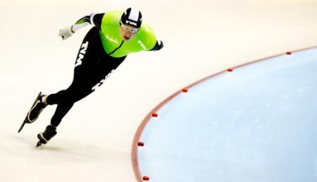Kramer reed 10 km in nieuwe olympische pak