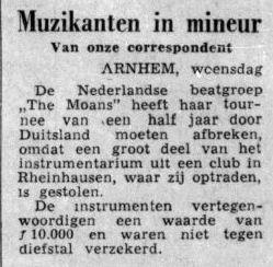 Uit de Telegraaf van 1 september 1965