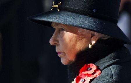 Britten herdenken met klaprozen gevallenen