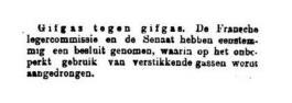 Uit de Leeuwarder Courant van 18 november 1915