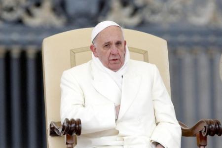 'Paus wil zelf bedelaars gaan helpen'