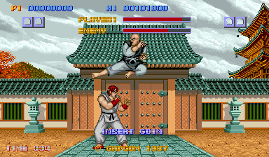 Retsu in Street Fighter