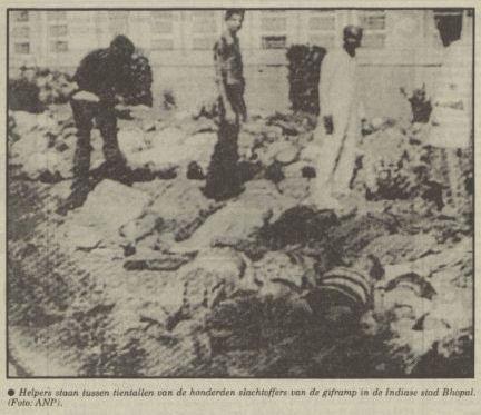 Uit de Nieuwsblad van het Noorden van 4 december 1984