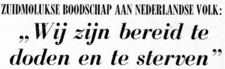 Uit de Telegraaf van 5 december 1975